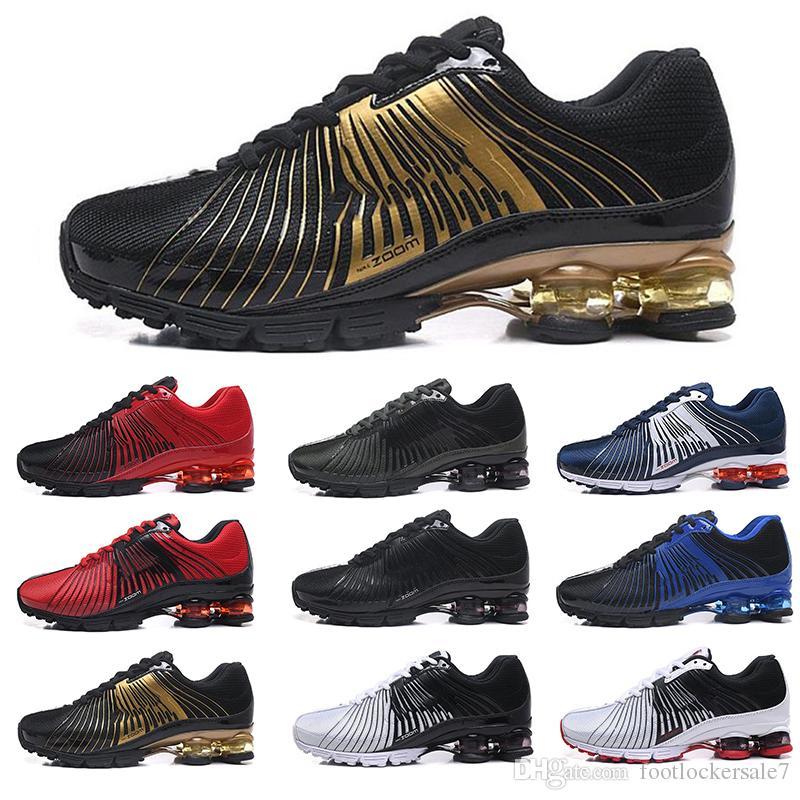 timeless design c2091 a8af5 Acheter 11 Couleurs Zoom Nouveau Designer 625 Hommes Femmes Chaussures De  Course Absorption Des Chocs Shox DELIVER OZ NZ Hommes Chaussures De Sport  Sneakers ...
