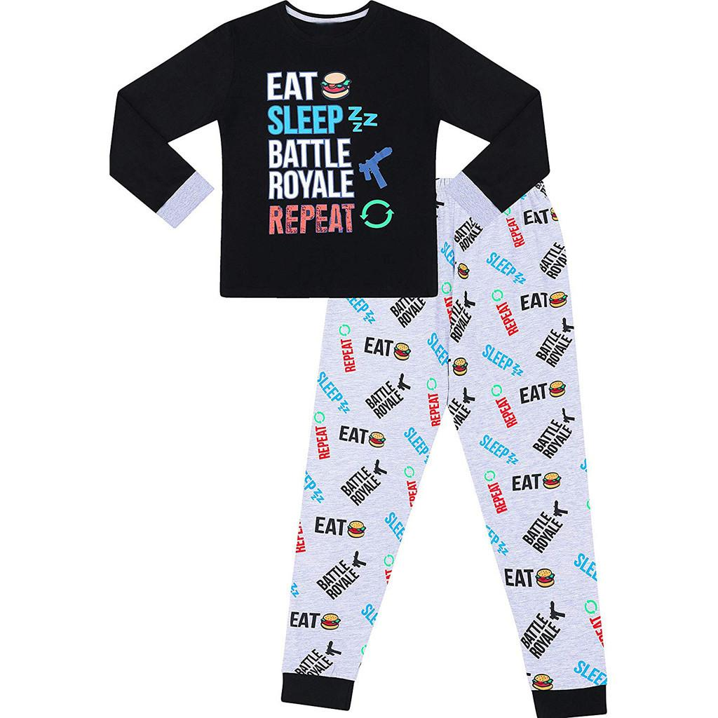 4ce251305 Soft Toddler Kids Baby Boys Letter T Shirt Tops Pants Pajamas ...