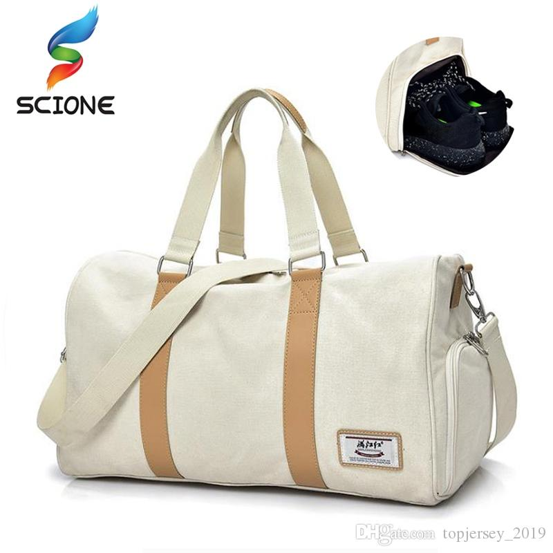 fab5d48584 2019 Hot Sports Gym Sack Duffel Bag Waterproof Travel Handbag Outdoor  Training Shoulder Bag For Women Fitness Yoga Crossbody #203653 From  Topjersey_2019, ...