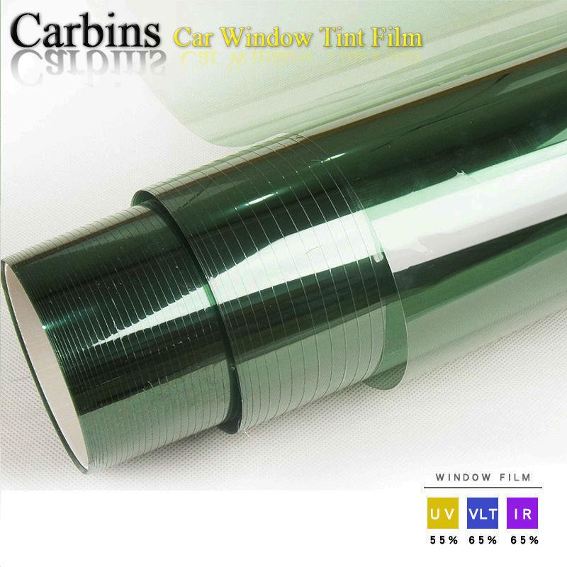 Car front window tint solar protection film 2ply light green color 0 76*3m  roll, suitable for most cars