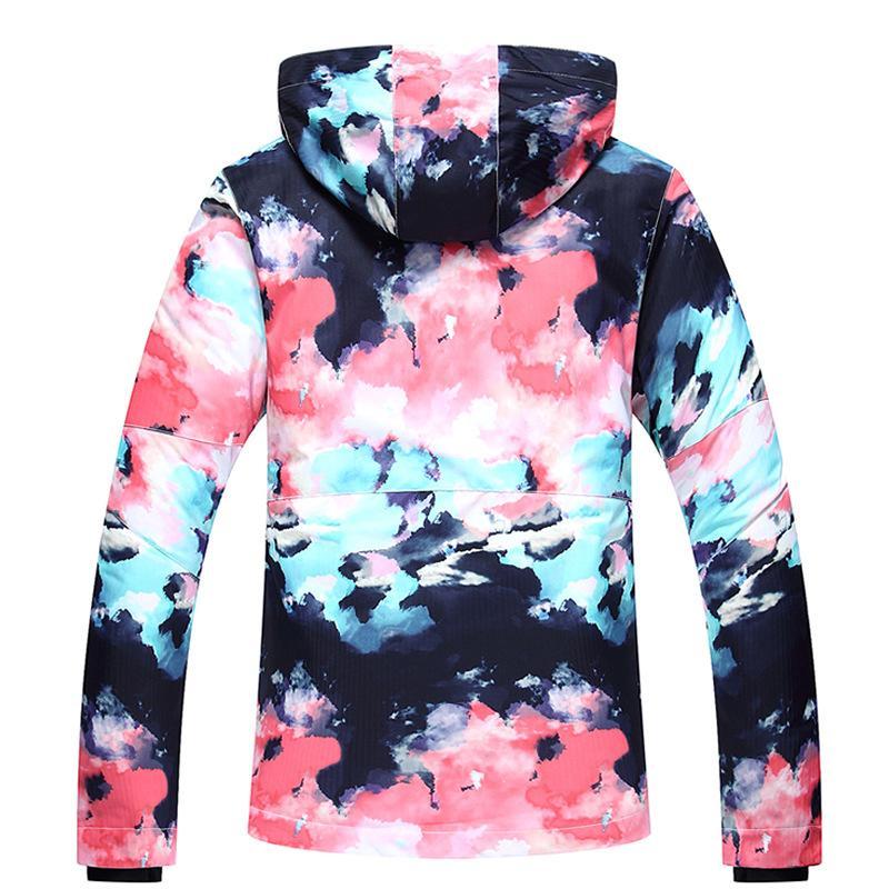 couleurs harmonieuses gros en ligne classcic Veste De Ski Femmes Ski Suit Hiver Imperméable Pas Cher Ski Suit En Plein  Air Camping Femelle Manteau Snowboard Vêtements Camo