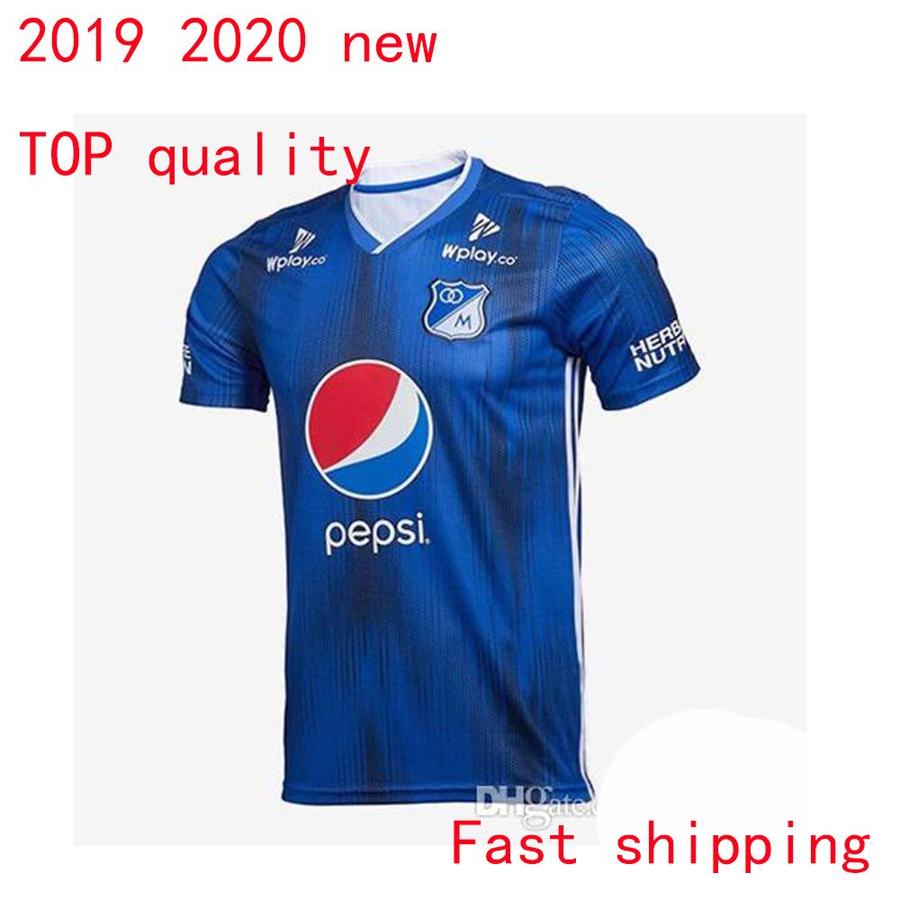 58596fa1996 2019 2019 2020 Millonarios Soccer Jerseys Futbol Club Colombia Football  Shirt 19 20 Colombia Millonarios Home Men Shirts Fast Shipping From  Sport jerseys