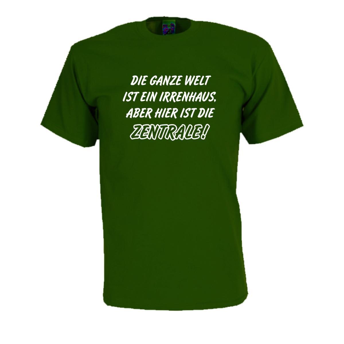 Grosshandel Die Ganze Welt Ist Ein Irrenhaus Lustiges T Shirt
