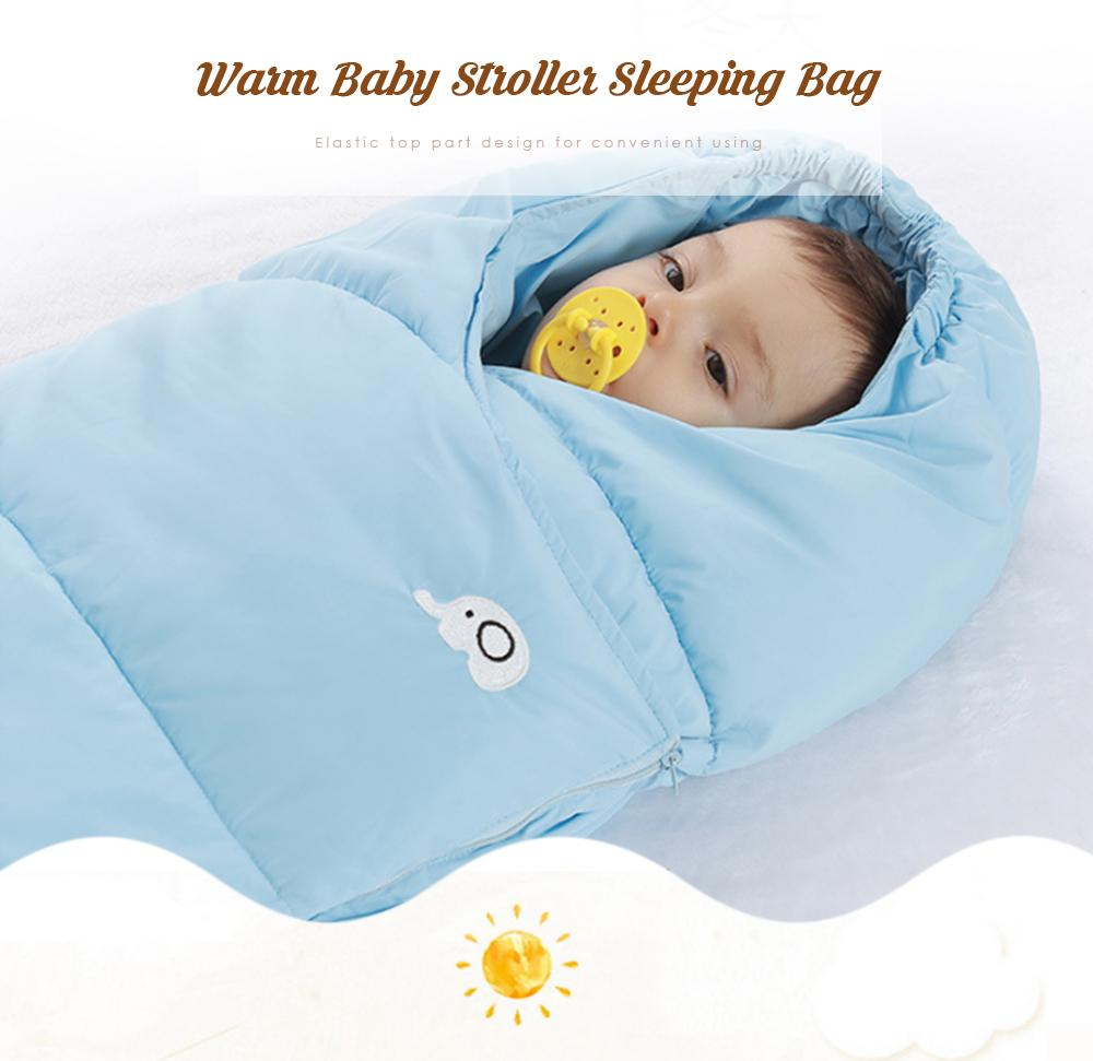 Baby stroller sleeping bag Winter Warm Sleepsacks Robe Swaddle Quilt Blanket Wrap Sleep Sack wheelchair envelopes newborns footmuff