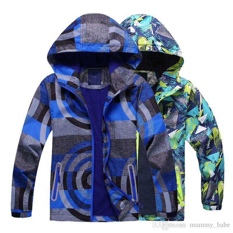 341d40e67618 Fashion 2019 Spring Boys Girls Jackets Kids Boys Outerwear ...