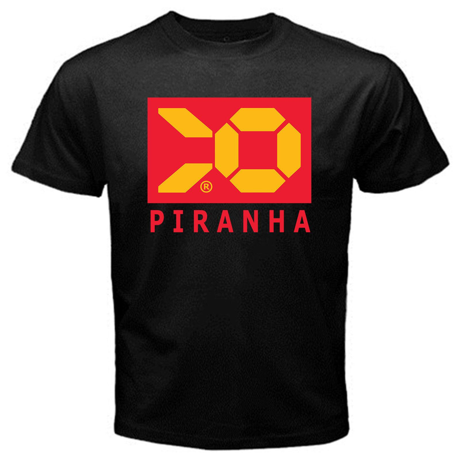 31644b2281c40 Piranha Advancement Wipeout 2097 Anti Gravity Racing Black Tshirt Funniest  Tee Shirts Fun Tee Shirt From Charm83