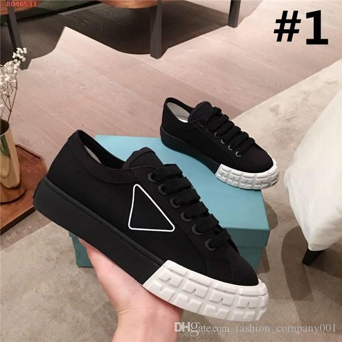 Lace-up sneakers for women,low-top and flat-bottomed sports Jogging shoes in the spring & summer 2020 collection,Complete set of shoe box