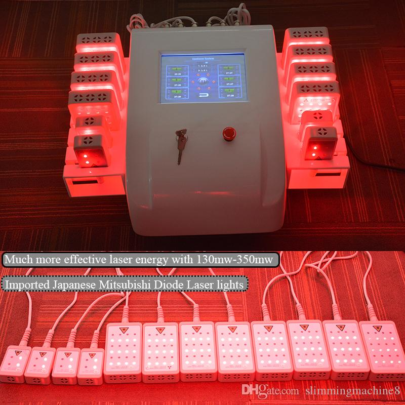 Lipo laser Slimming machine liposuction lipolaser machines Body Shaping Fast Weight Loss Device Laser Diodes Fat Removal Machine for sale
