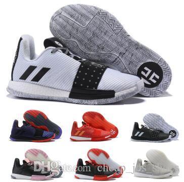 1ad2632bbc5 Compre Hombres James Harden Vol. 3 Zapatillas De Baloncesto Zapatillas De  Deporte Hombre Blanco 2019 Nuevo 3s Coral MVP Zapatillas De Tenis De Alta  Calidad ...