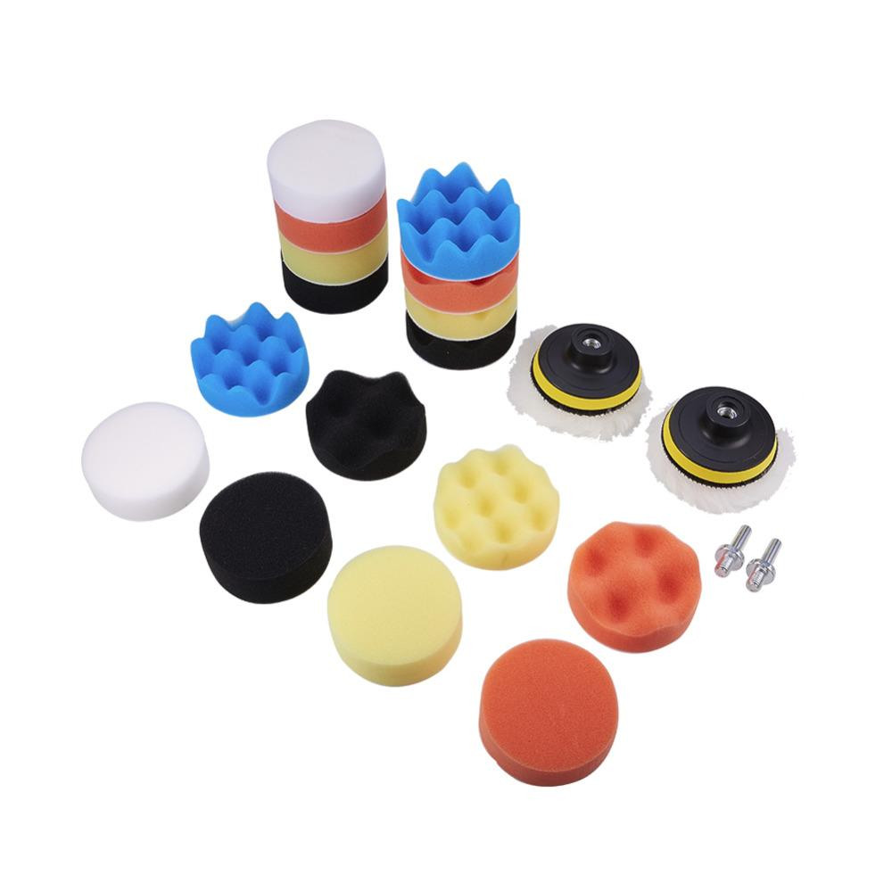 3 Inch For Car Buffing Pad Kit Polishing Wheel Sponge Pad Drill Adapter 11pcs Rapid Heat Dissipation Back To Search Resultstools