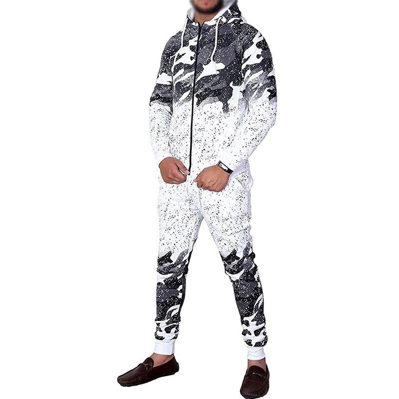 044bd6da2955 ZOGAA Men s Tracksuit Casual Camouflage Fashion Sportswear Men ...