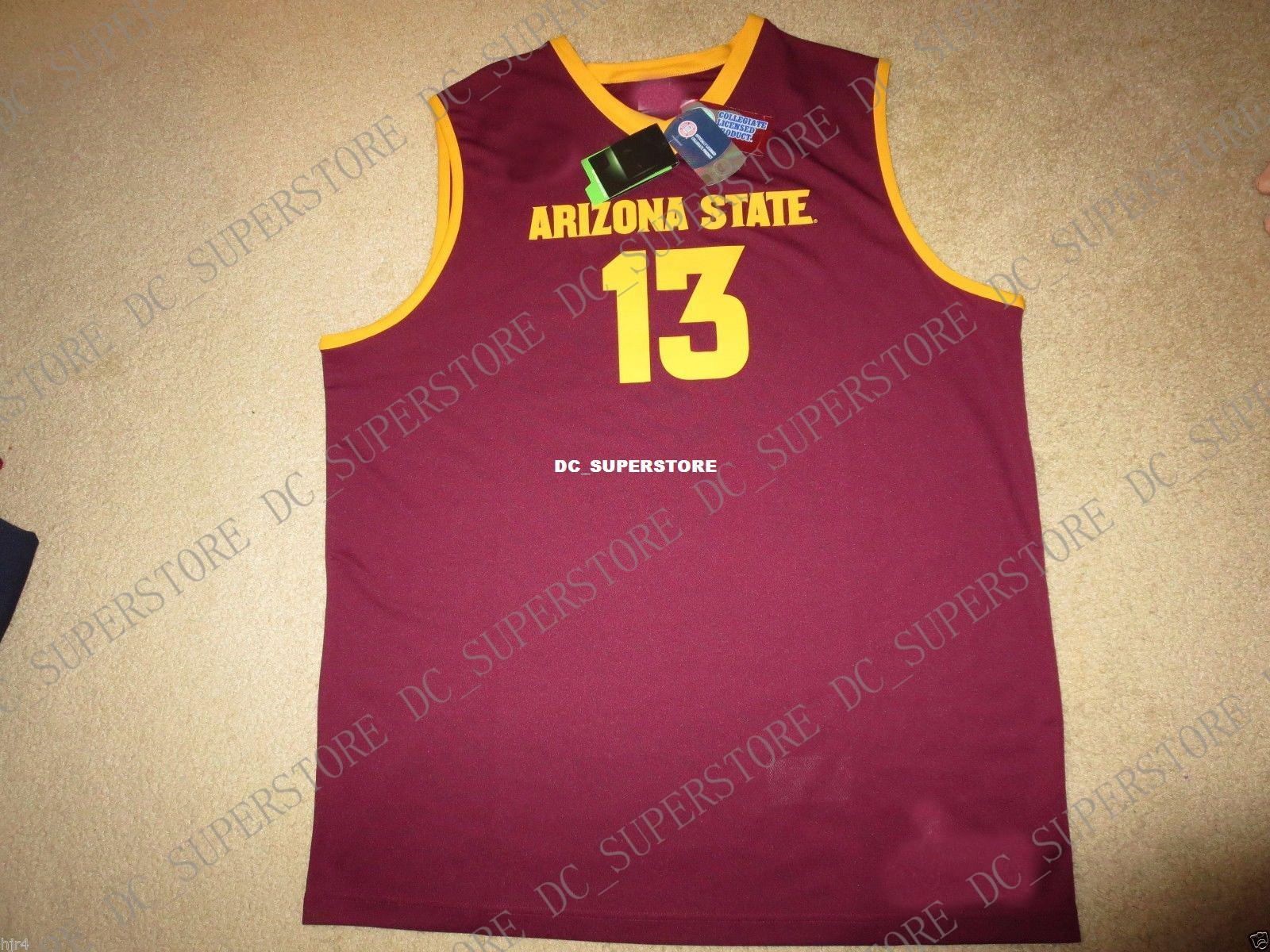 43d75404e10 2019 Cheap Custom James Harden  13 Arizona State Sun Devils Basketball  Jersey NEW Stitched Customize Any Number Name MEN WOMEN YOUTH XS 5XL From  ...