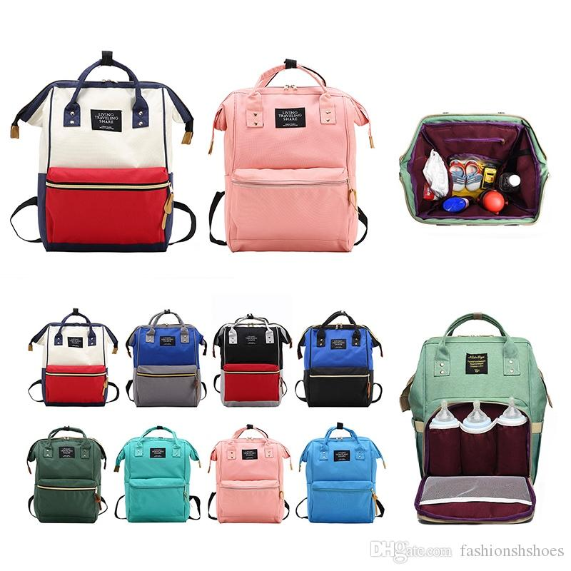 Fashion Mummy Backpack Oxford Travel Backpacks For Girls Maternity Nappy  Bags Large Capacity Rucksacks For Mom Feminina Mochilas  34900 Laptop  Rucksack ... fa3adf499383a