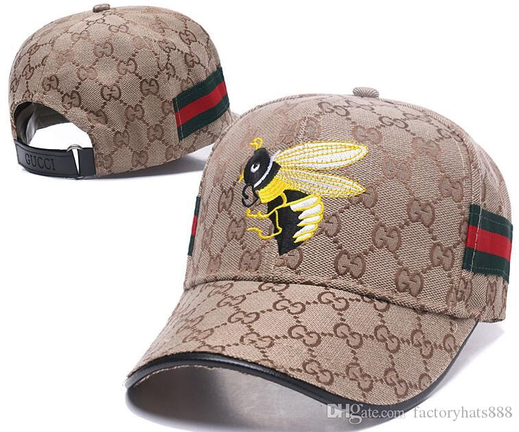 061f6bf1 2019 Luxu Ry Design G G Dad Polo Hats Italy Brand Guc Baseball Cap Little  Bee Men Women Famous BrandS Adjustable Skull Sport Golf Curved Hat 32 From  ...