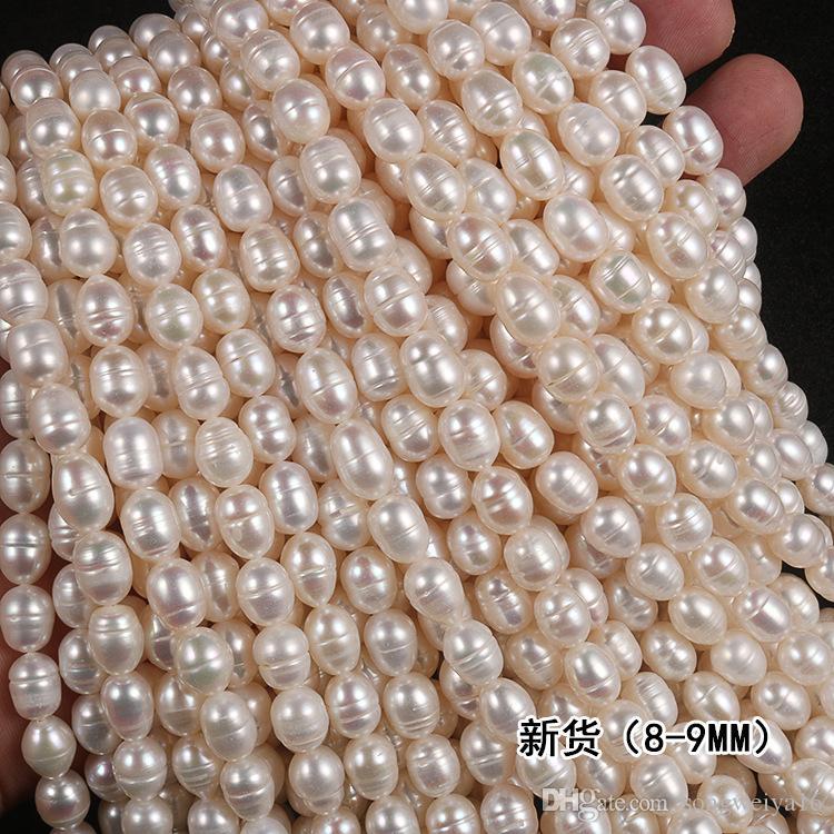 Belle 7-8 mm Multicolore Collier De Perles D/'eau Douce Pearl Bracelet Boucles d/'oreilles