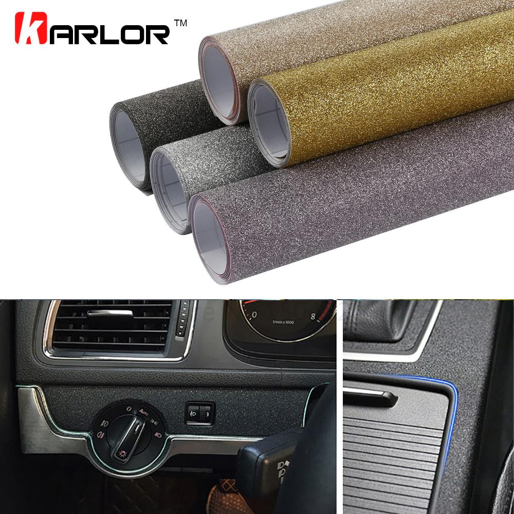 10*100cm MaGlitter Bling Diamond Vinyl Films Wrap Car Styling Sticker Flash Point MaDIY Internal Decal Automobiles Truck