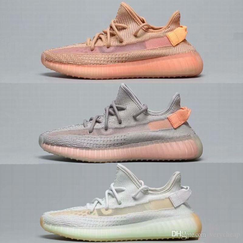 a5f4097bb7851 2019 Mens Womens 350 V2 Clay Hyperspace True Form TRFRM Shoes 2019 New  Kanye West Sneakers Big Size US 5 13 From Verycheap
