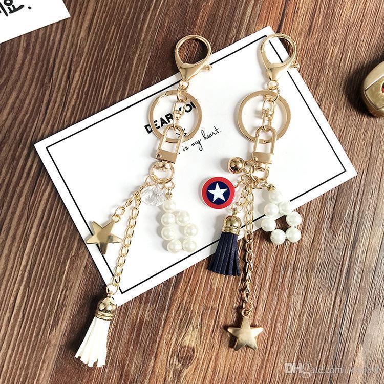 Gold Tone Fahion Womens Luxury Keychain Bag Charm Metal Multi Style  Beautiful Women Key Chians Holder Keyring Handbag Pendant Keychain Lanyard  Name ... 2a22c45201