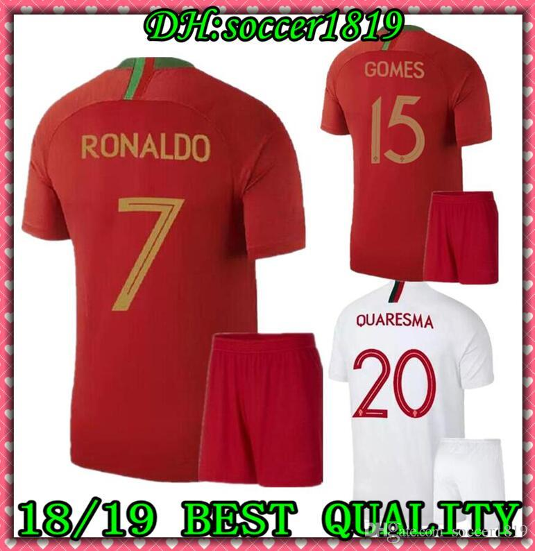 5b2c8bb23 2019 Adult Kits 2018 2019 BERNARDO Soccer Jerseys QUARESMA 18 19 ...