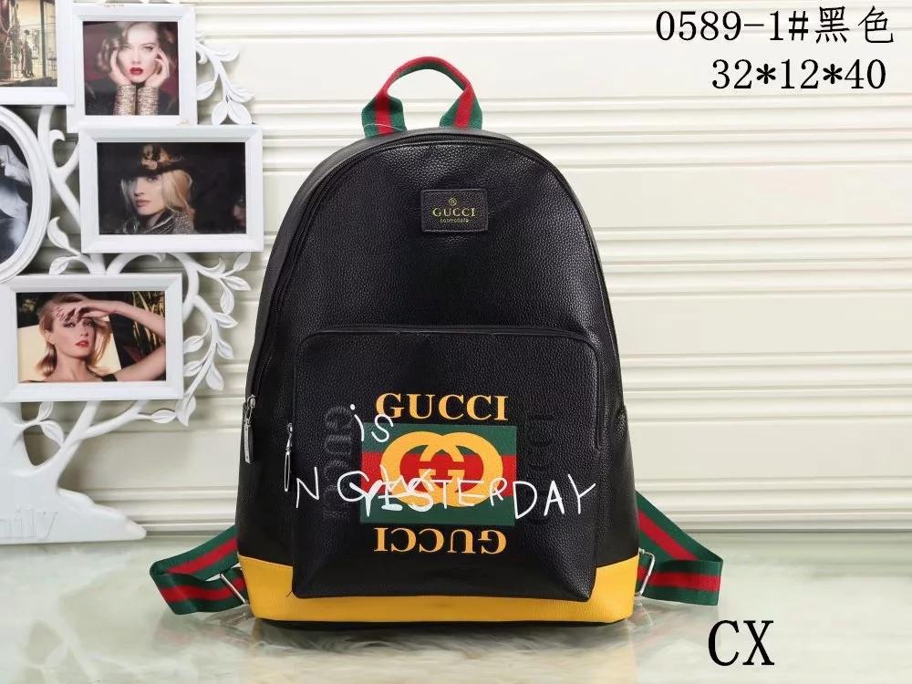 a5d535b6c8b3 2018 European Style Brand Backpack Fashion Designer Multi Pocket Package Women  Men Backpacks High Quality Handbags Popular Travel Bag Hunting Backpacks ...