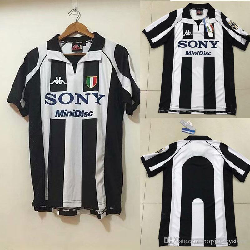 e71046cdfd3 2019 Retro 1997 98 Juventus Centenary Alessandro Del Piero 10 ZIDANE Home  Soccer Jersey Football Shirt Trikot Maglia Camiseta De Fútbol Juventus From  ...