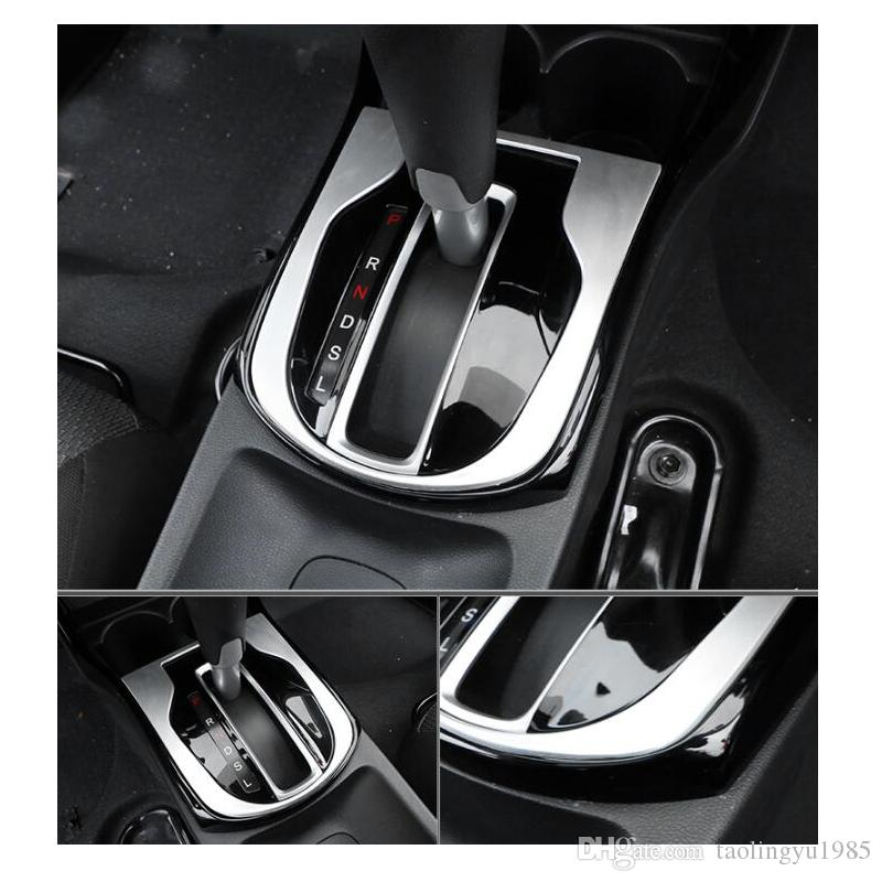 ABS Automatic Gear Shift Panel Cover Trim For Honda City 2015