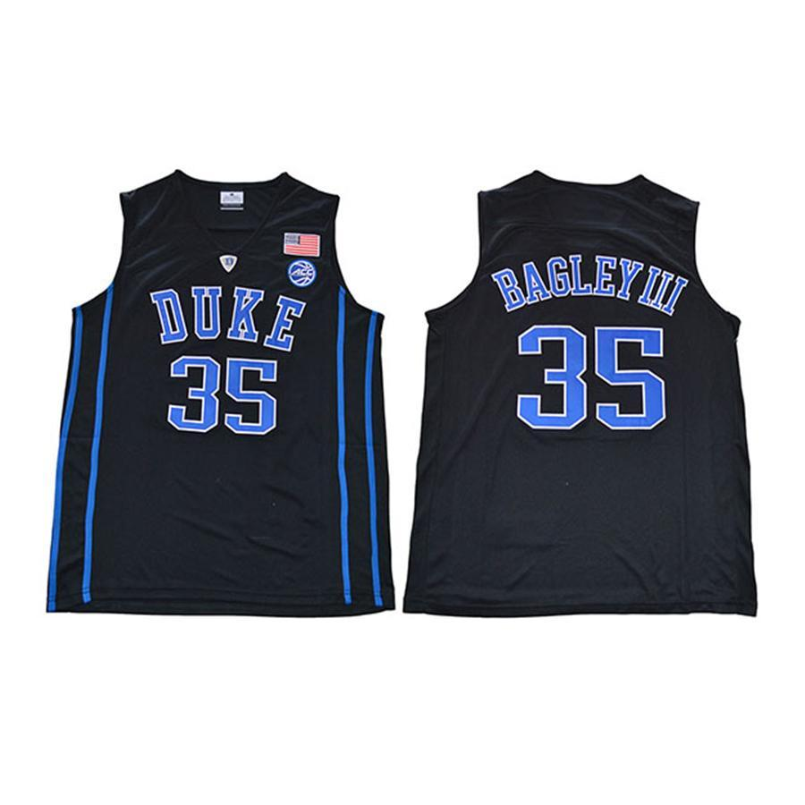 new arrival 33613 78edc Mens Marvin Bagley III Jersey Duke Blue Devils Grant Hill College  Basketball Jerseys High Quality Stitched Name&Number Size S-2XL
