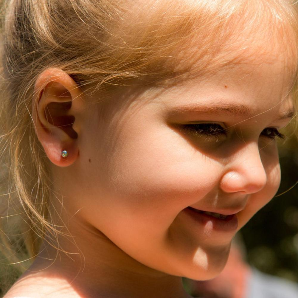 Disposable No Pain Safe Sterile Ear Stud Piercing Unit Gun Kit Nose Stud Piercing Tool Easy Ear Piercer with CZ Gem 20g