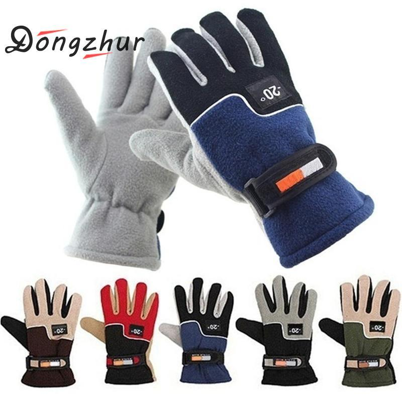 Skiing & Snowboarding Strict Winter Bicycle Gloves Outdoor Keep Warm Skiing Sport Warm Gloves Low Temperature Ski Cycling Climbing Glove For Men Women New Quality And Quantity Assured