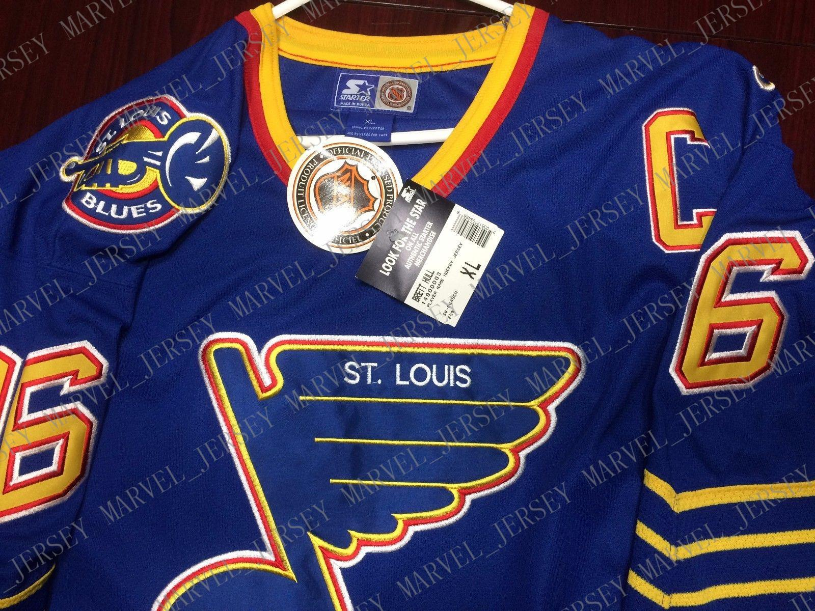 info for 7e403 ff0ab Cheap custom Hull St. Louis Blues Jersey Starter Mens Personalized  stitching jerseys
