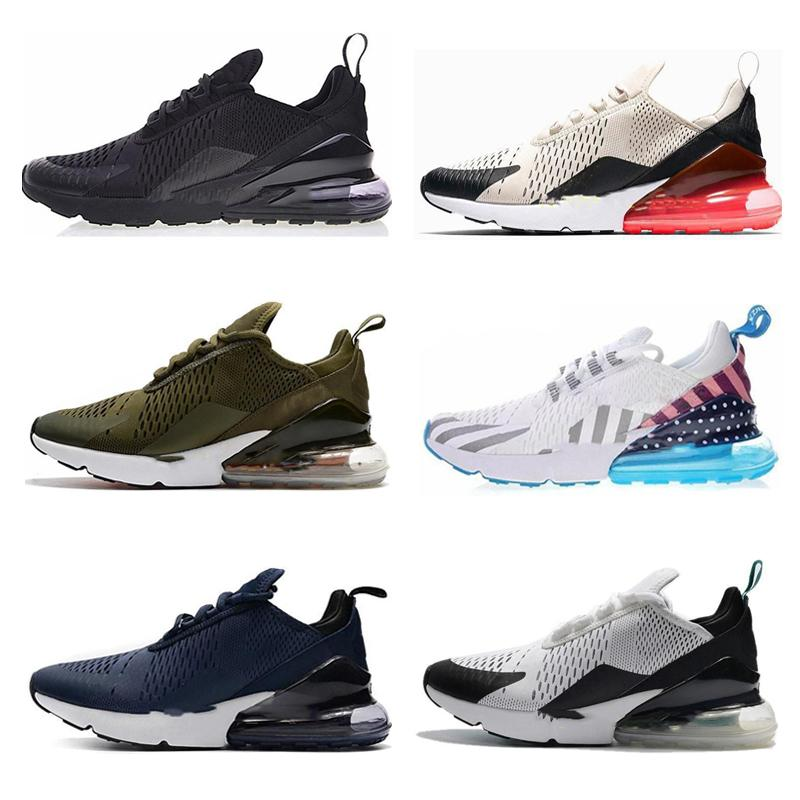 nike air max 270 27c airmax 2019 New Cushion Sneaker Designer Zapatos casuales 27c Trainer Off Road Star Iron Sprite Tomate Hombre General para