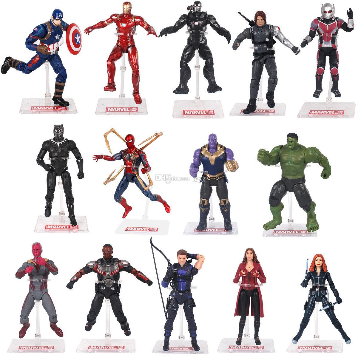 2019 avengers: endgame high quality pvc action figures marvel heros
