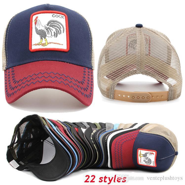 444b1126bfcc Gorra de béisbol de verano 22 estilos Sombrero para hombre Carta juvenil  Estampado bordado Unisex Mujer Hombre animal Sombreros Sombrero de Hip Hop