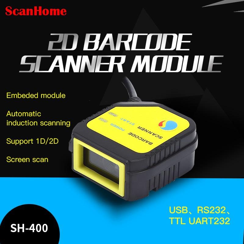 ScanHome embedded scanning module 2D code scanning head module fixed USB  TTL RS232 engine SH-400