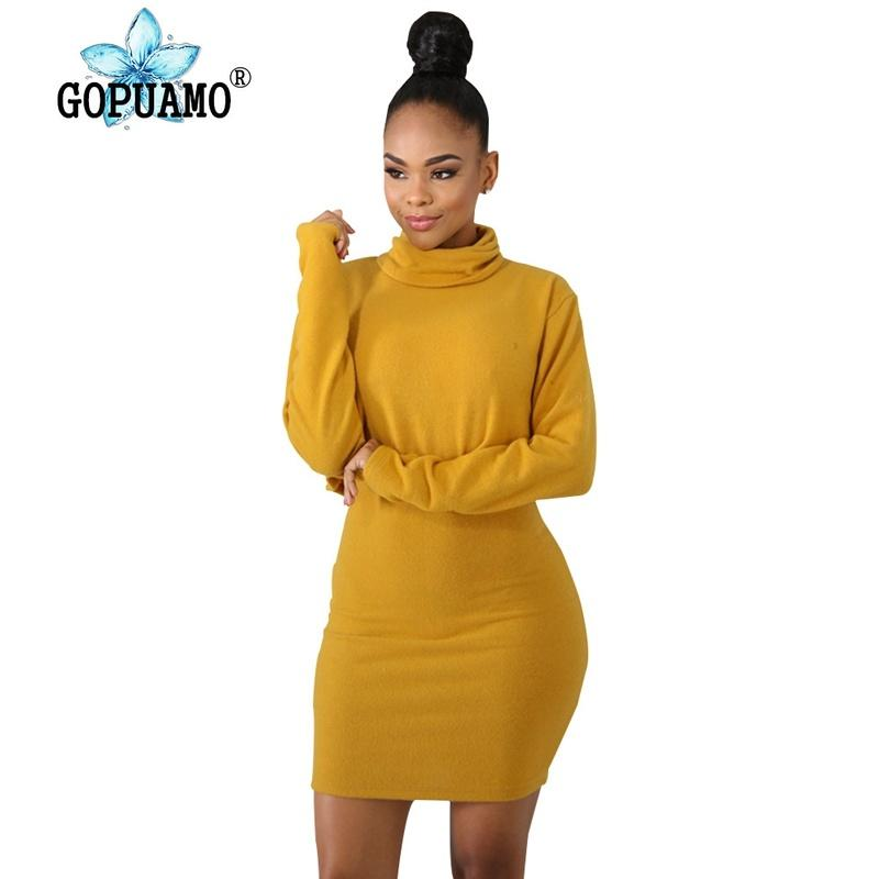 3a691433f4405 Plus Size Sexy 2 Two Piece Set Dress Women Clothes Long Sleeve Turtleneck  Crop Top+High Waist Bandage Mini Skirts Casual Outfit