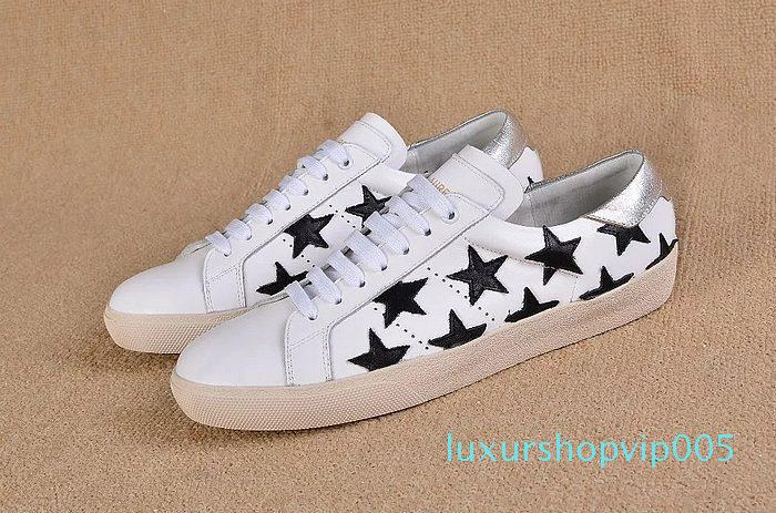New Arrival SL Casual Mens And Women Flats Casual Shoes Star Chaussure Loafers Shoes Unisex Sneakers High Quality 35-44 01