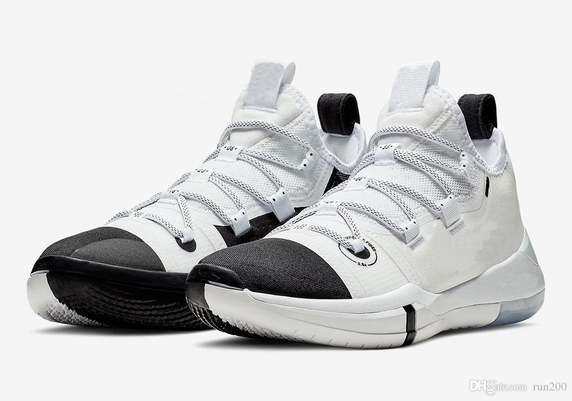 watch 9fafb e965f Buy Kobe AD Toe Black White Shoes For Sales New Online Kobe Bryant  Basketball Shoes Store Wholesale With Box Size40 46 Shoes Jordans Sneakers  On Sale From ...