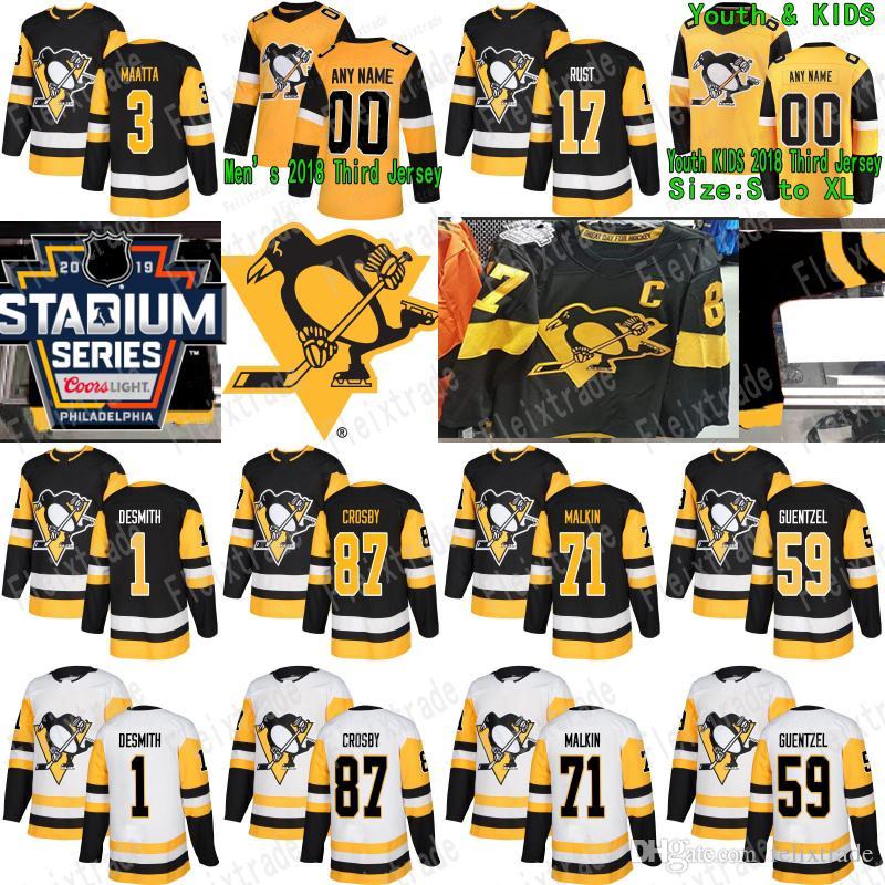 wholesale dealer fae63 d1971 2019 Stadium Series Pittsburgh Penguins Jersey Sidney Crosby Jake Guentzel  Phil Kessel Evgeni Malkin Kris Letang Patric Hornqvist Bryan Rust