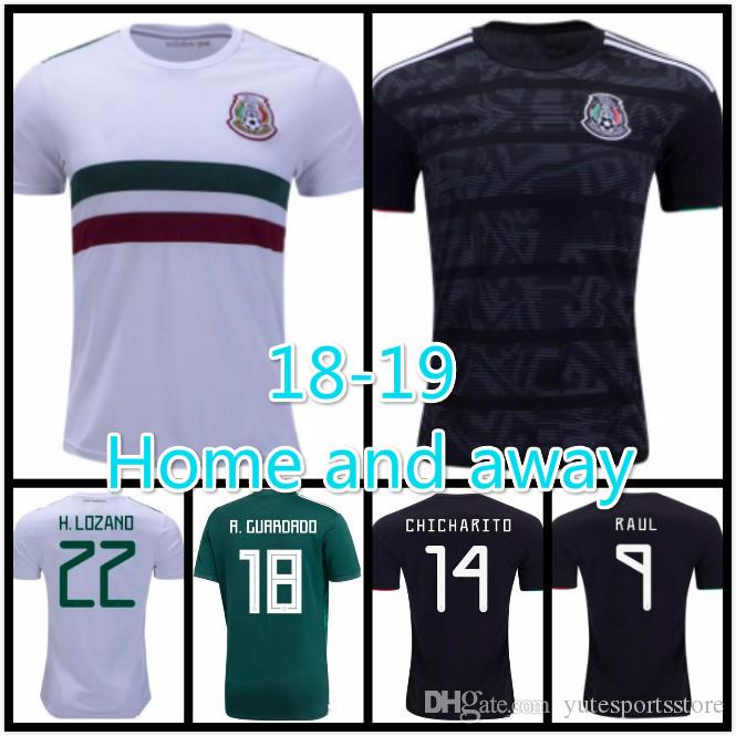 new arrivals 9c34c 1f780 Top quality 2019 mexico soccer jerseys LOZANO CHICHARITO gold cup football  shirt 18 DOS SANTOS mexico Camisetas de futbol LAYUN Soccer shirt