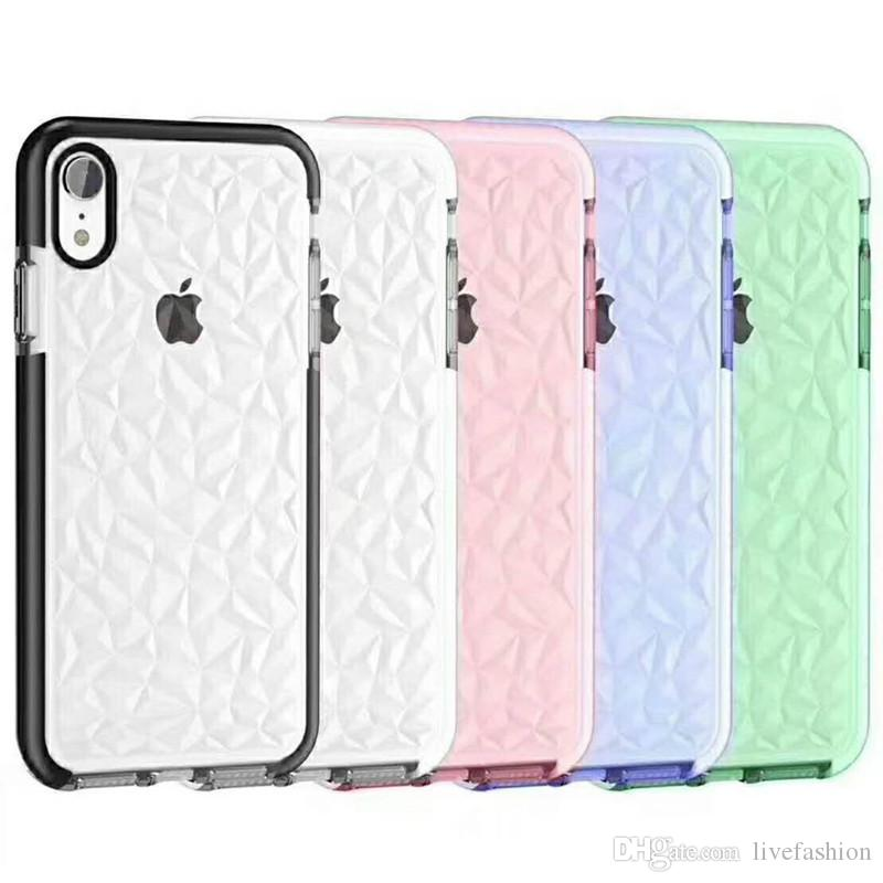 sports shoes a6f23 d37d8 Luxury Jelly Phone Case For iPhone X XR XS Max Soft TPU Case Shockproof  Clear Cover For iPhone 7 8 6 6s Plus Cases Fashion High Quality