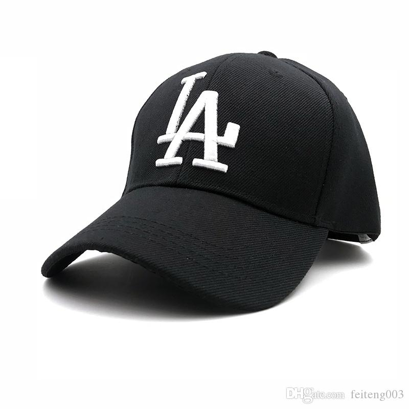 2018 New Letter Baseball Caps LA Dodgers Embroidery Hip Hop Bone Snapback  Hats For Men Women Adjustable Gorras NY Casquette  17591 UK 2019 From  Feiteng003 0831a4a82b11