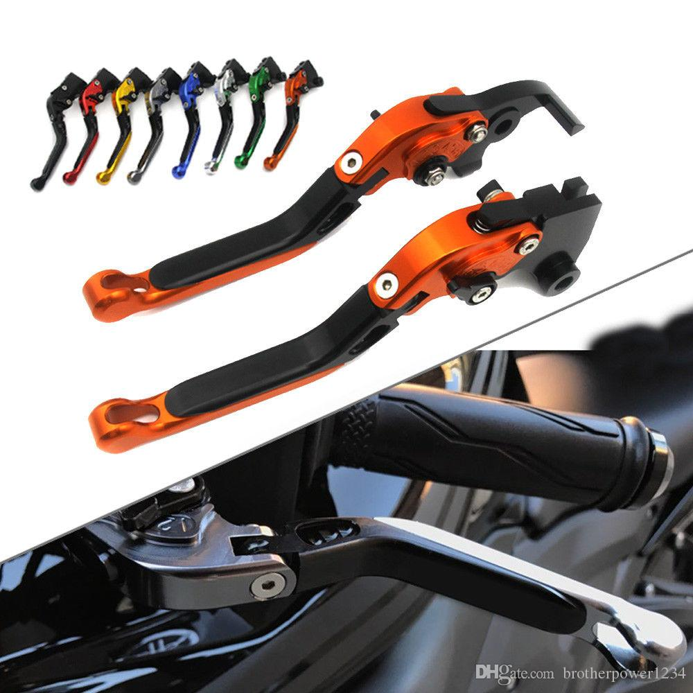 CNC Foldable Extending Clutch Brake Levers For Buell 1125R 2008-2009 1125CR 2009