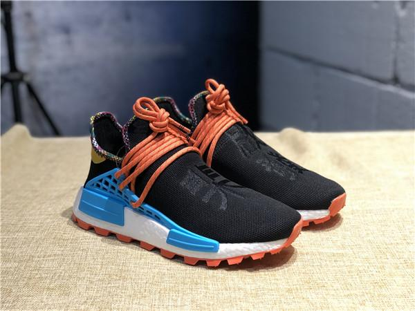 2019 Sale Pharrell Williams Human Race PW HU HOLI MC Heart Inspiration Idea Designer Men Women Running Shoes Youth Equality Nerd Sneakers *.