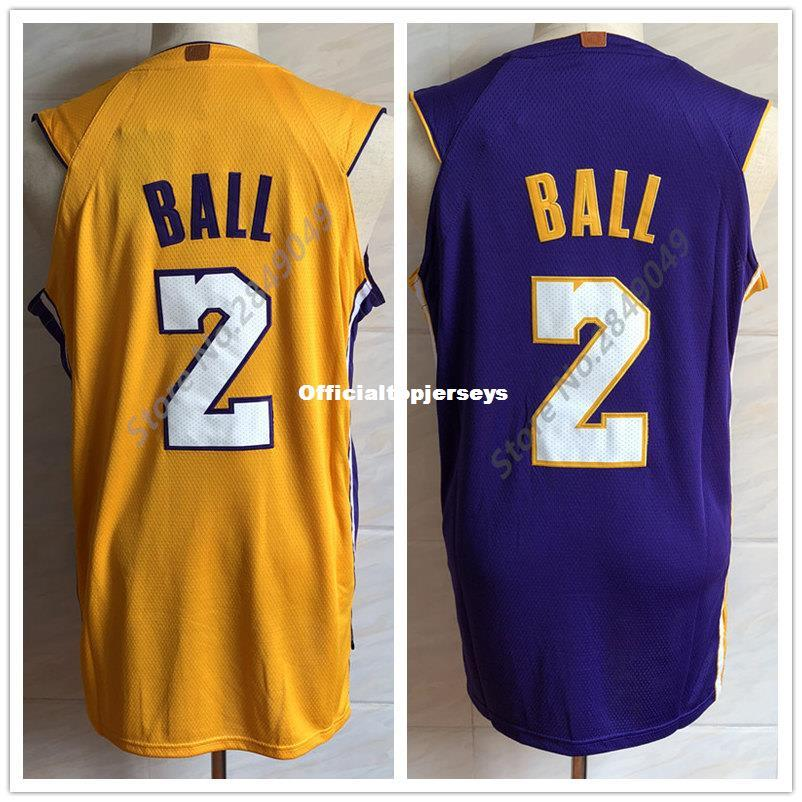 2019 New  2 Lonzo Ball Youth Top Basketball Jersey For Kids Children Boys  Girls US Size S XL Stitched Best Quality Vest Jerseys Ncaa From  Officialtopjerseys ... ec1dfd1fe