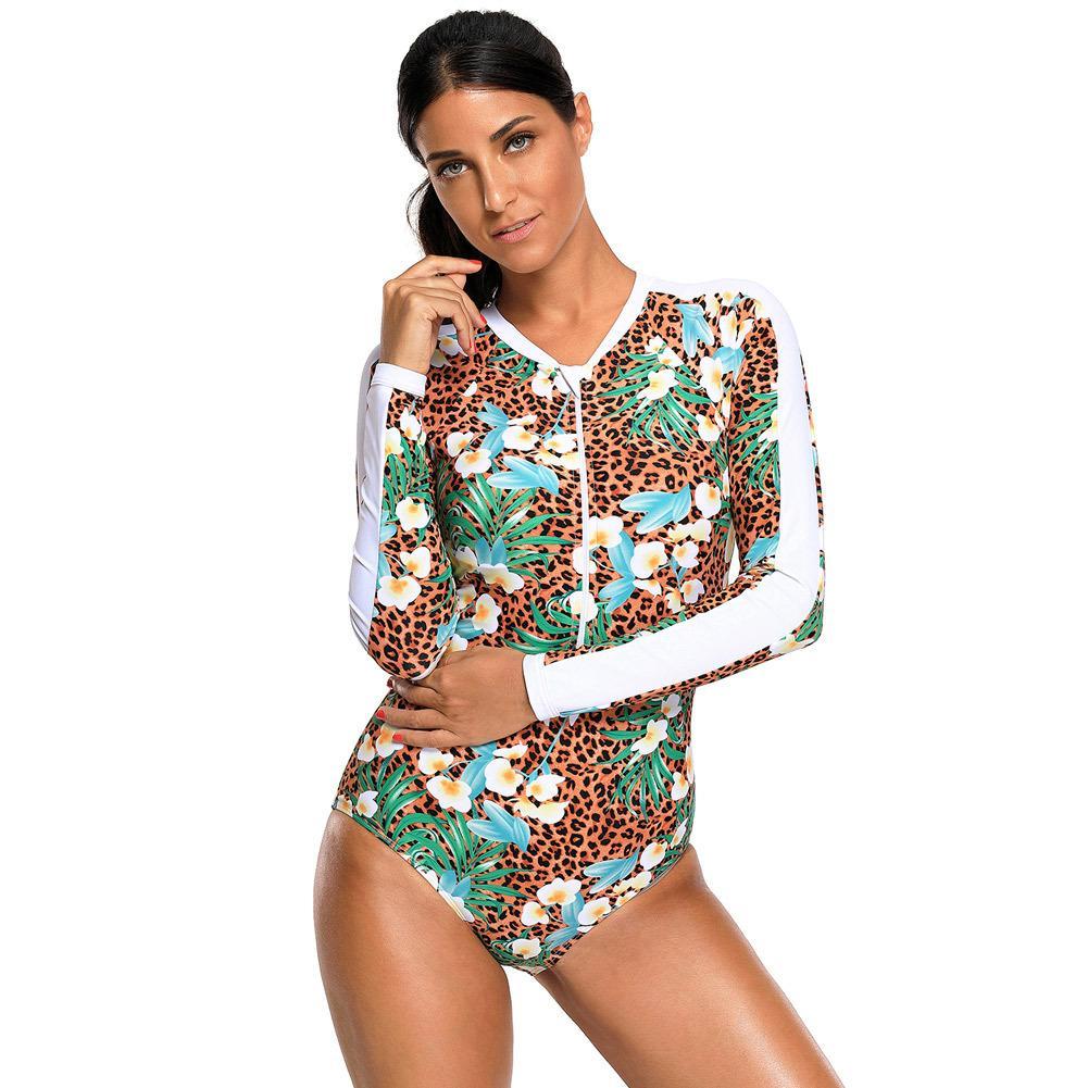 24 Baño Pieza Larga Para De Del Playa Traje Ropa Corte Alto Monokini Una Jf888jf 13 A Compre Mujer Manga Camiseta Eqganw