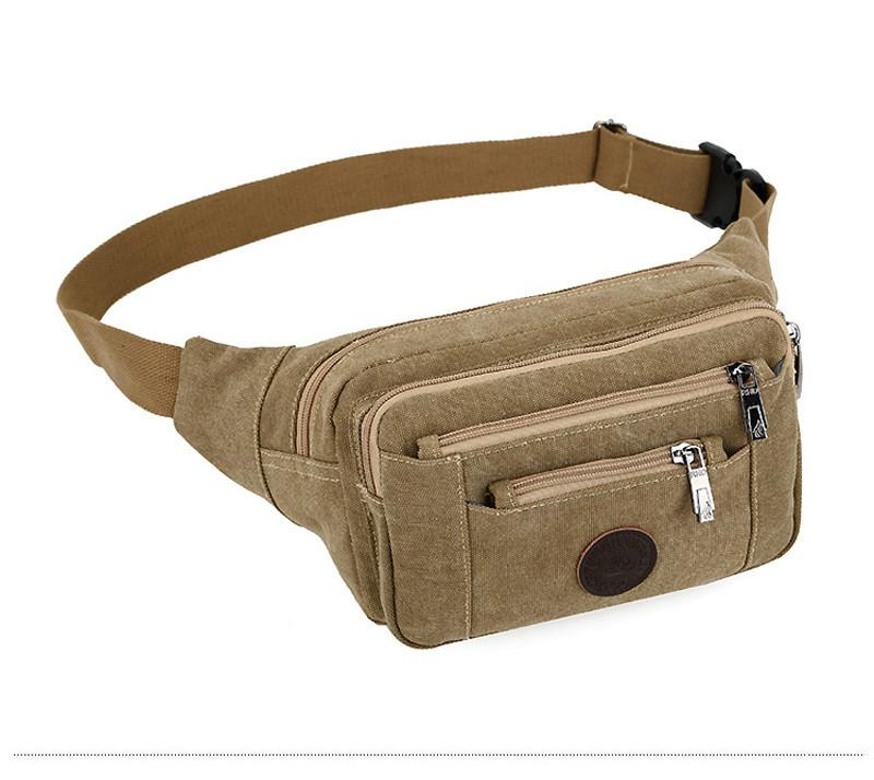 e7e4fc5311a Casual Canvas Waist Bags Women Designer Fanny Pack Fashion Belt Pouch For  Men Multifunctional Black Bum Bag Pink Fanny Pack Hip Pack From Dhukien
