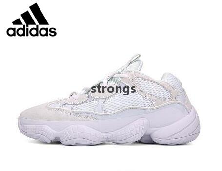 buy popular 7e634 c5939 2019 Original Air Yeezy 500 Blush Running shoes Athletic DMX CONFIRMED  Desert Rat runner Kanye west 500s Super Moon Yellow Salt Utility Black  DB2966 ...