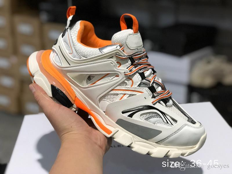 buy online 23841 8b452 Geox Scarpe 2019 Balenciaga Men Shoes Triple S Sneakers Scarpe Da Corsa  Paris Track Release 3 Tess Uomo Gomma Maille Black Donna Triple S Sneaker  Da ...