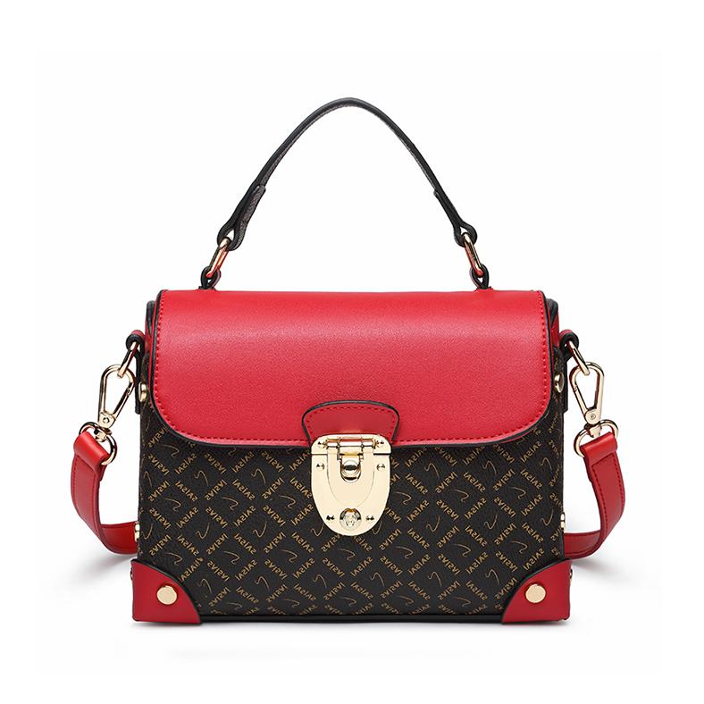 41dc0cd873d0 Shoulder bag Korean version of the wild Messenger bag texture female small  handbag net red hook package