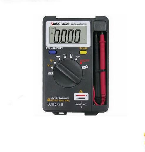 VICTOR VC921 Digital Pocket LCD DMM Multimeter Voltmeter